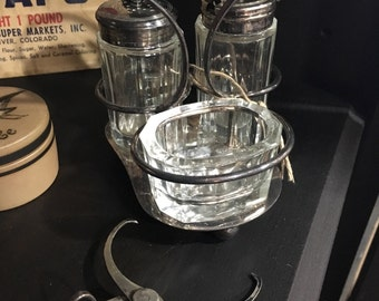 Falstaff Silver Plated Cruet Set
