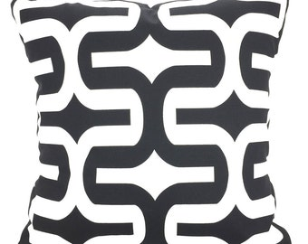Black White Pillow Covers, Decorative Throw Pillows, Cushions, Black White Embrace, Pillows for Couch Bed Sofa, One or More ALL SIZES