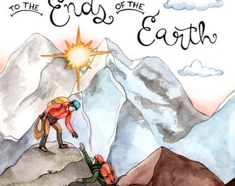 Ends of the Earth Love Card-Valentine