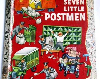 """Little Golden Book First Addition """"SEVEN LITTLE POSTMEN"""""""