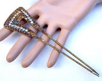 Indonesian Bali decorative hair comb hair pin hair pick hair fork decorative comb hair jewelry headdress (AAI)