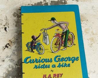 1952 CURIOUS GEORGE Vintage Notebook Sketchbook