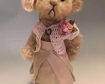 Erin: a handmade artist teddy bear from Jazzbears