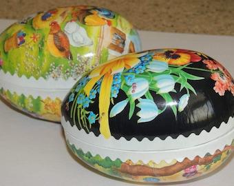 German Easter Nestler Paper Eggs