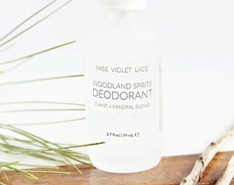 Deodorant Spray | Deodorant with Zechstein magnesium | Woodsy deodorant | 100% natural and vegan