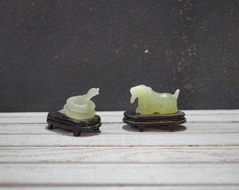 Chinese Jade Figurines