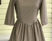 FORBULA  Custom Order  - Colonial Pioneer Trek Prairie Dress, Apron and Bonnet