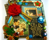 NEW Graphic 45 Vintage Hollywood Inspiration Kit, Scrapbook Embellishment Kit  for Scrapbook Layouts Cards Mini Albums and Paper Crafts
