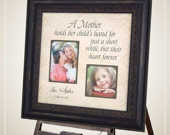 Mother of the Bride Gift, Wedding Gift for Mom, 16x16
