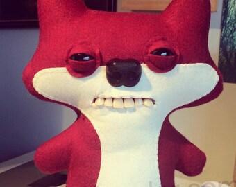 Custom Suspicious Fox Fuggler™ - made to order.
