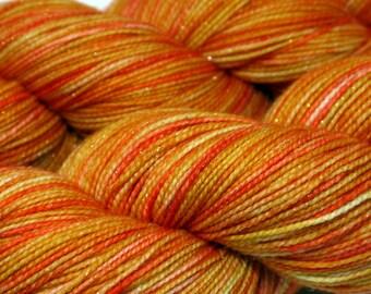 Twinkle Sock - Brite Orange
