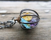 Personalized Birthstone Mom Amethyst Crystal Necklace Wife Girlfriend Gift Birthday Daughter Friendship Jewelry Gift Grandmother Gemstone