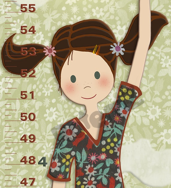 Growth Chart for Girls - Height Chart for Girls
