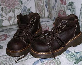 Vintage 90s Dr. Marten Chunky Ankle Boots sz. US 6/EU 37