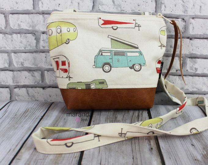 BRI Messenger Bag  - Retro Campers