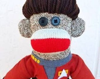 Captain Janeway Sock Monkey