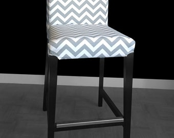 Ikea henriksdal bar stool chair cover barber by sokolvineyard.com