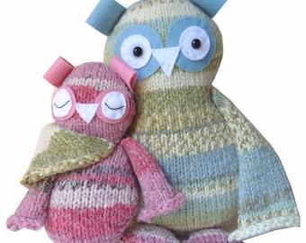Owls Knitting Kit Two Hoots