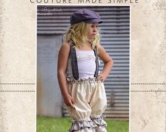 Wren's Shorties, Capris and Pantaloons PDF Pattern sizes 6/12 months to 8 girls