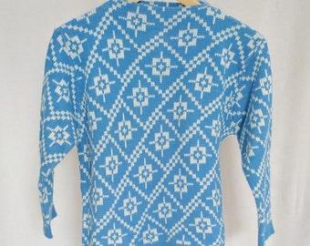 Vintage Apres Ski Sweater