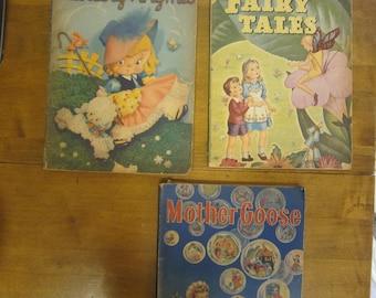 Vintage Children's Books-Whitman Publishing, Racine-Old Children's Books-