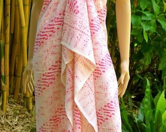Pink Sarong, Pareo, Cover up