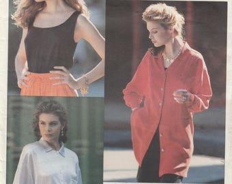 Blouse & Camisole Pattern Vogue 2451 Sizes 12 14 16 Uncut