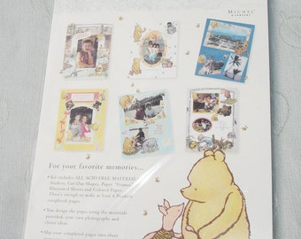 Disney's Classic Pooh and Friends Scrapbook Page Kit by Michel and Company - Everyday Theme