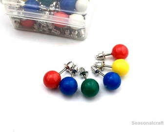 locating pin/register pin/pursue frame position pin/8mm*12mm,6mm*12mm, 1 Box of 25 pins (T352)