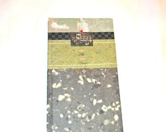 Truck Journal Sketchbook Handmade Paper Excellence Hardcover Unused Man Gift