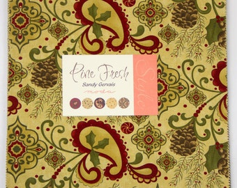 Pine Fresh Layer Cake by Sandy Gervais for Moda - One Layer Cake - 17770LC