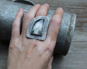 Transparent ring