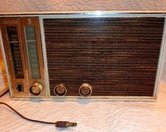 Zenith AM FM Tube Radio