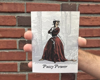 Pussy Power Card