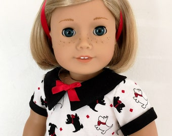 """18"""" Doll Clothes 1930's Dress"""