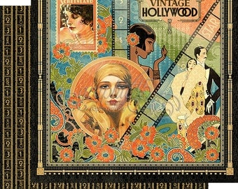 """Sale-Graphic 45 """"Vintage Hollywood"""""""