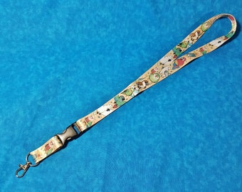 Pet Bird Lanyard ID Badge Holder - Lobster Clasp and Clip