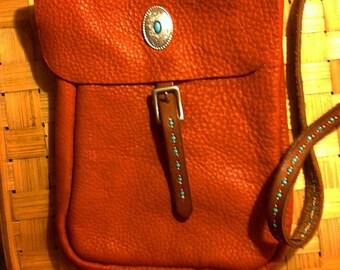 Hand made Elk hide purse.