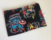 Reusable Snack & Sandwich Bag -- Marvel Comics Eco-Friendly