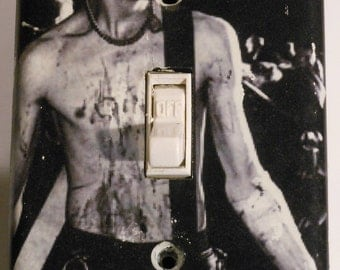 Sid Vicious Light Switch Plate