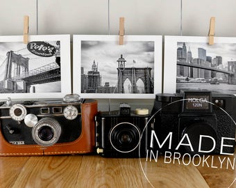 Bridesmaid Gift, Groomsmen Gift, Wedding Gift, Dorm Room Decor, Gift Hostess, Photo Gifts, New York Gifts, Gifts for Him, Brooklyn Bridge