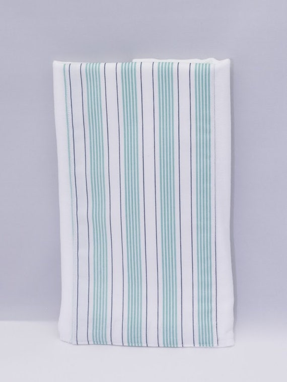 Cute Burp Cloth, Beautiful Green Striped Burp Cloths