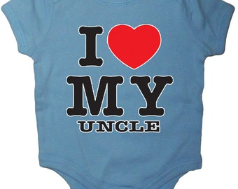 Funny saying baby shirt funny Uncle shirt infant tee baby shower gift