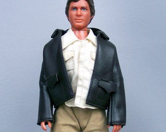 Vintage 1981 Indiana Jones 12 Inch Doll with Clothes and Boots