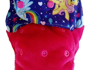 MLP - snap in one multi fit nappy