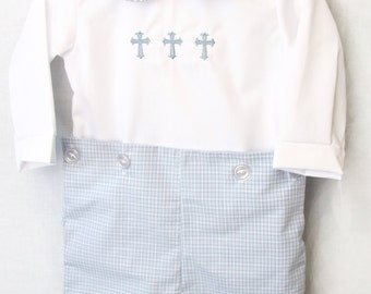 Baby Boy Dedication   Baby Boy Baptism Outfit   Baby Boy Clothes   Baby Boy Blessing Outfit    Boys Baptism Outfit   292746