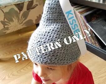 Crochet Pattern PDF File Candy Kisses Hat