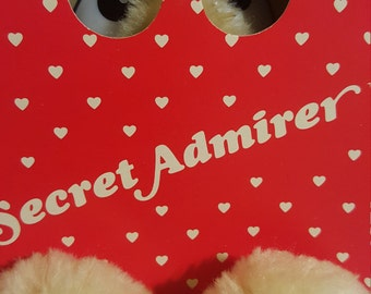 Secret Admirer, American Greetings, Forget me Not, hidding bear