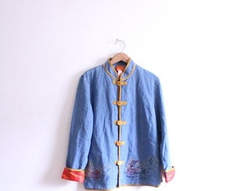 Asian Zen 90s Denim Jacket