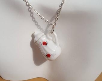 Teapot/Coffee pot necklace